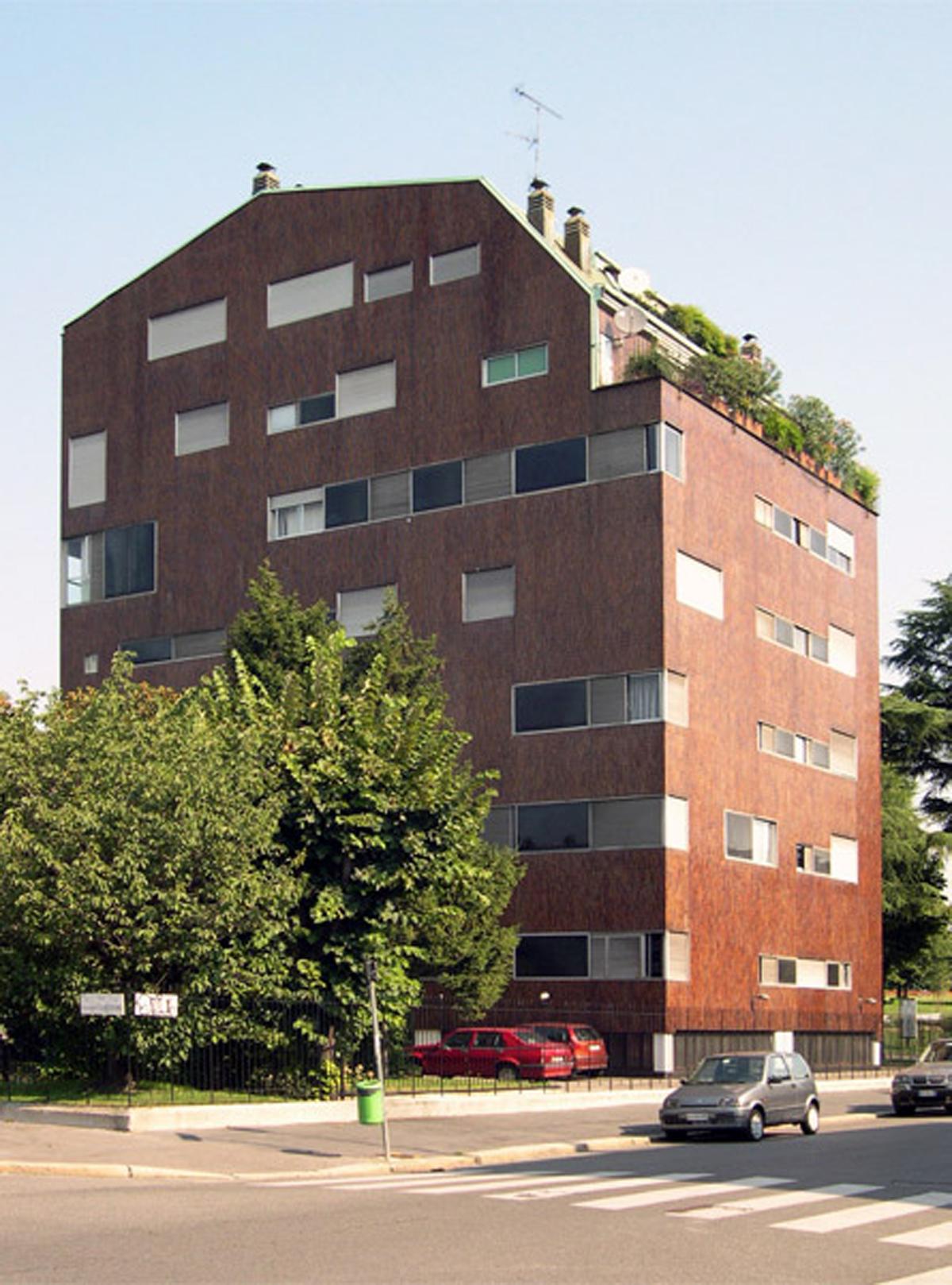 Luigi caccia dominioni edificios residenciales en milan for Caccia dominioni architetto