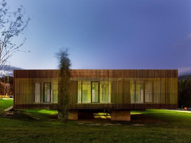 Abalo alonso arquitectos escuela infantil orense hic for Restaurante escuela de arquitectos madrid