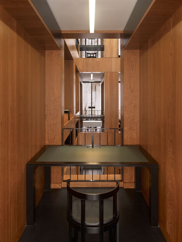 max dudler architekt folkwang library hic arquitectura. Black Bedroom Furniture Sets. Home Design Ideas