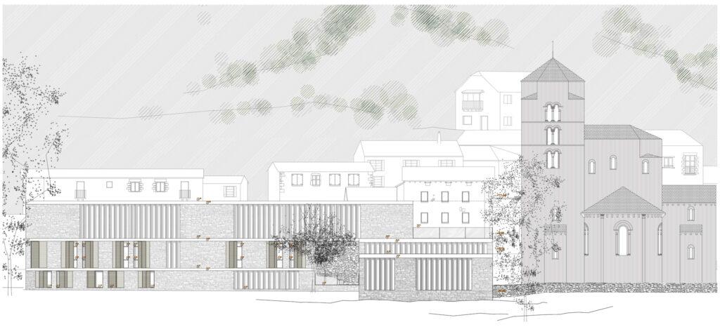 Jon prado museo y residencia para investigadores hic - Alzado arquitectura ...
