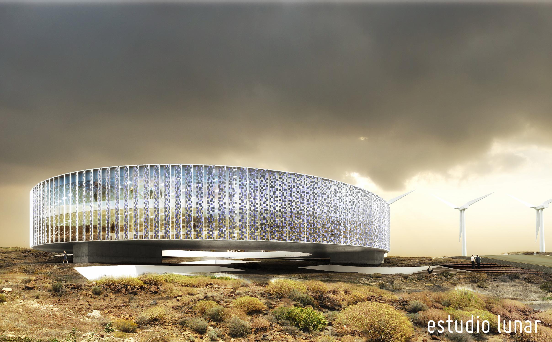 Estudio lunar 2o premio concurso edificio parque - Estudios de arquitectura en tenerife ...