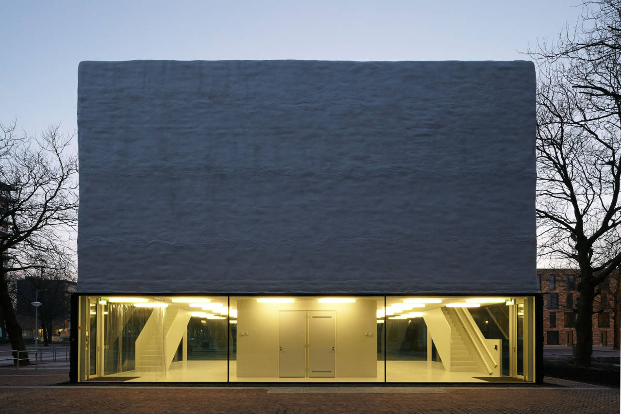 Atelier kempe thill youth center in amsterdam hic for Atelier arquitectura