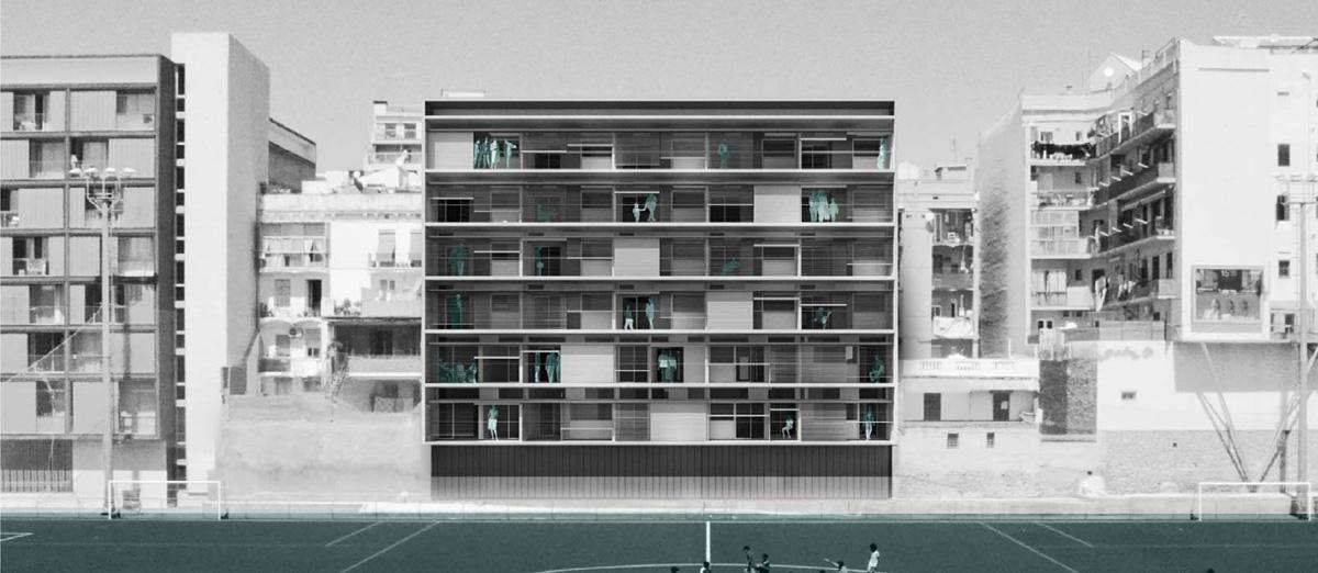conxita balcells concurso viviendas en la calle ali bei