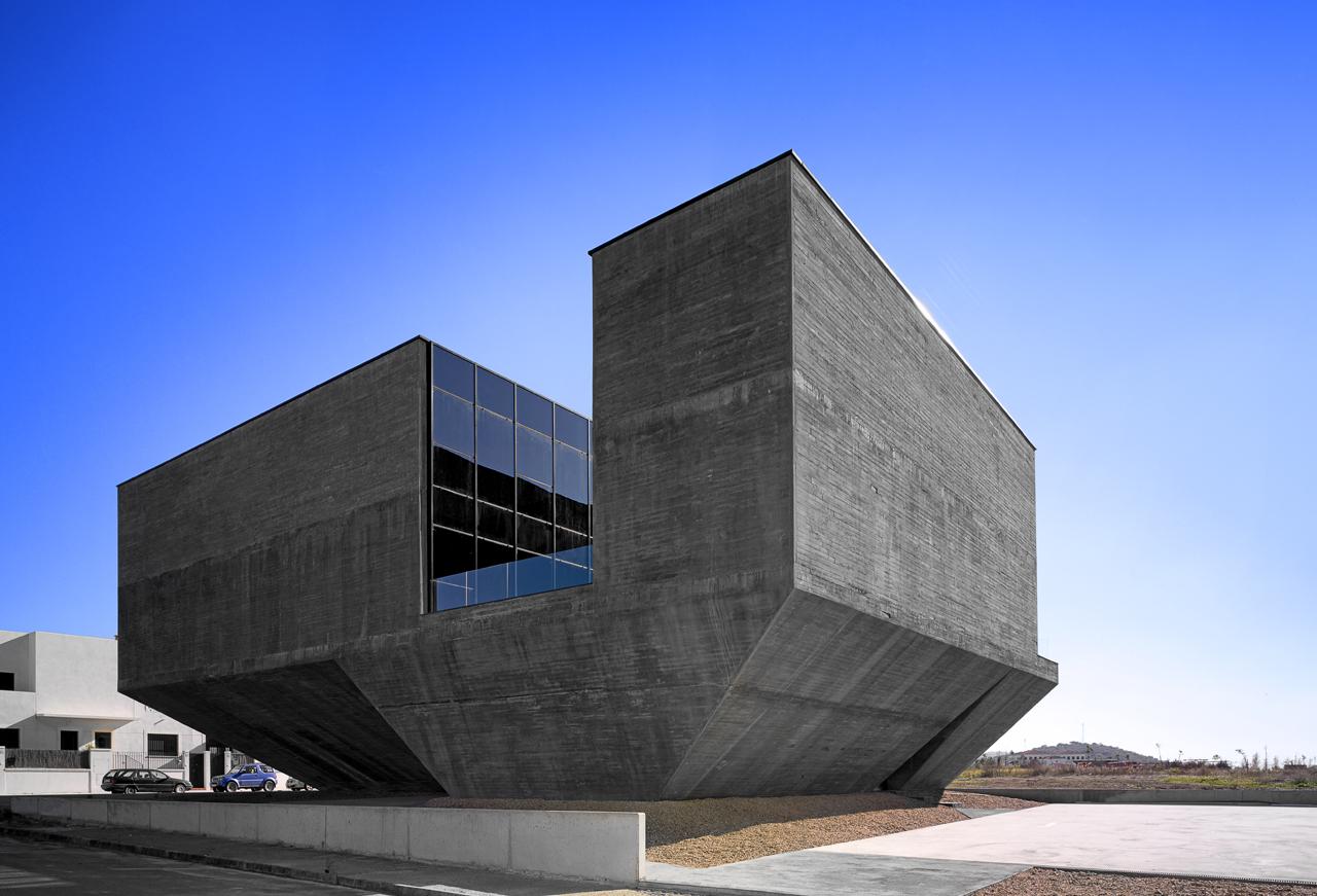 gap arquitectos centro integral territorial de olivenza