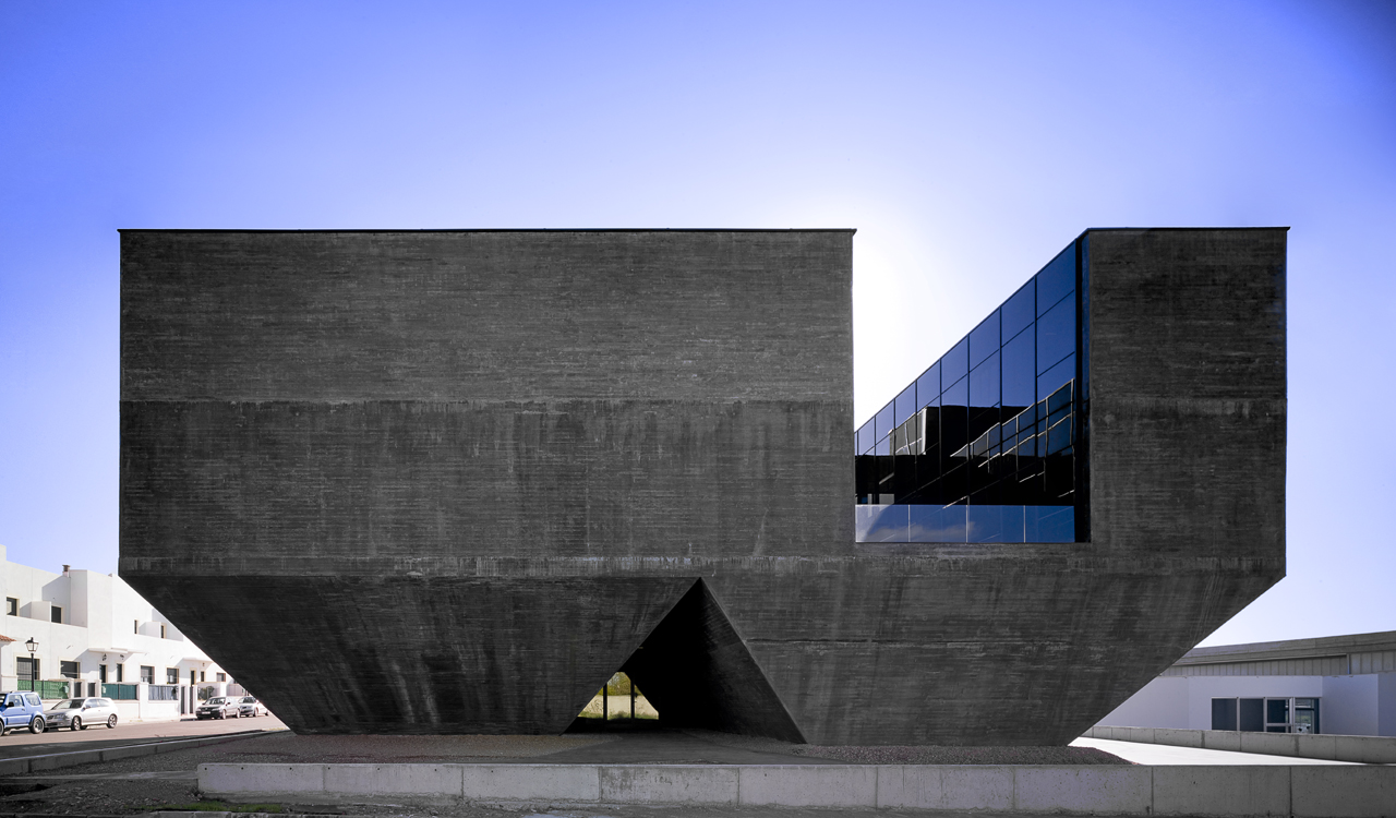 Gap arquitectos centro integral territorial de olivenza - Arquitectos de granada ...