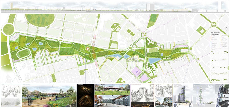 Iv n valero parque central de alicante y nueva estaci n for Plantas ornamentales para parques