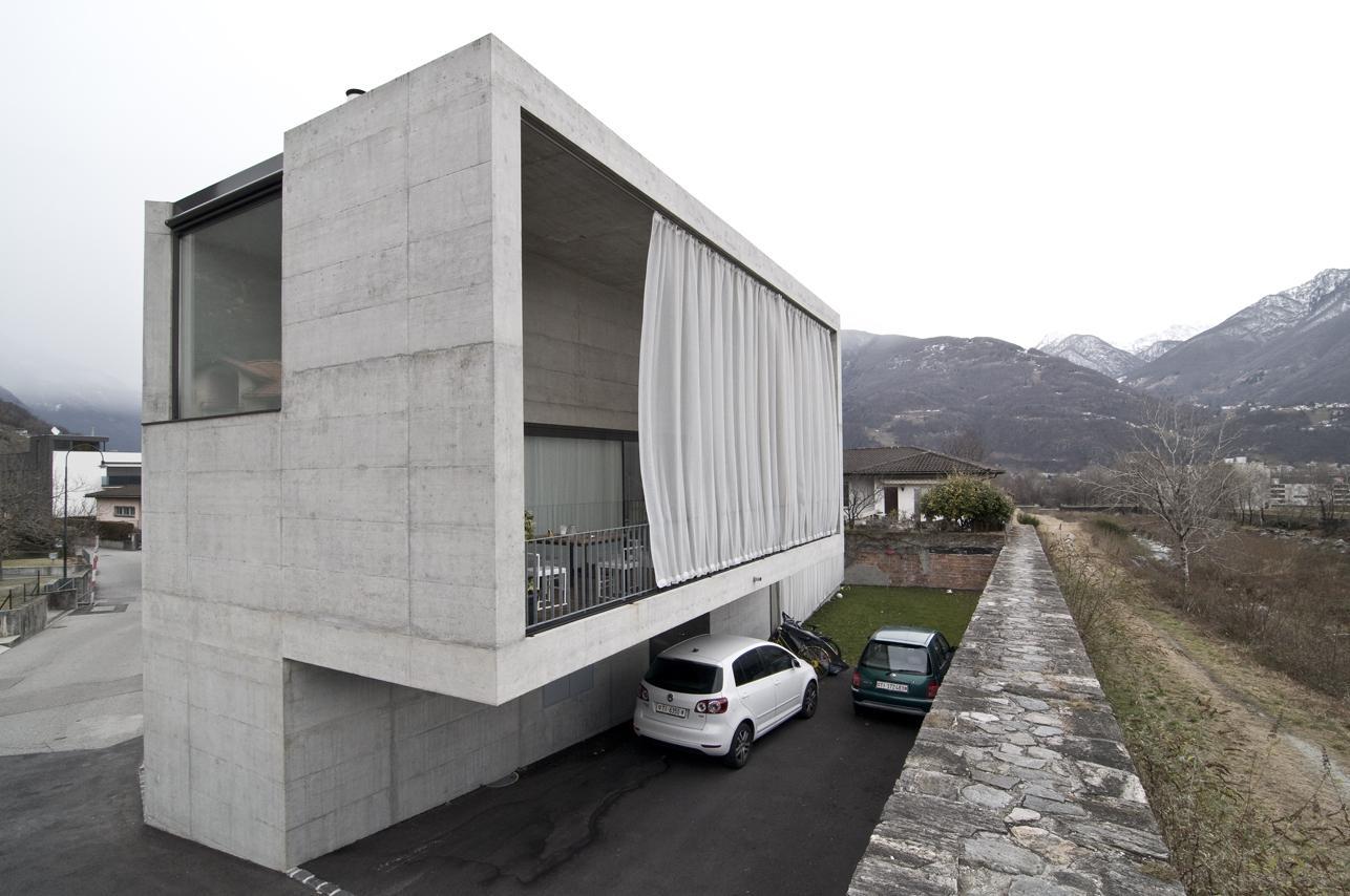 Guidotti architetti monte carasso casa martini hic arquitectura - Parcella architetto ...