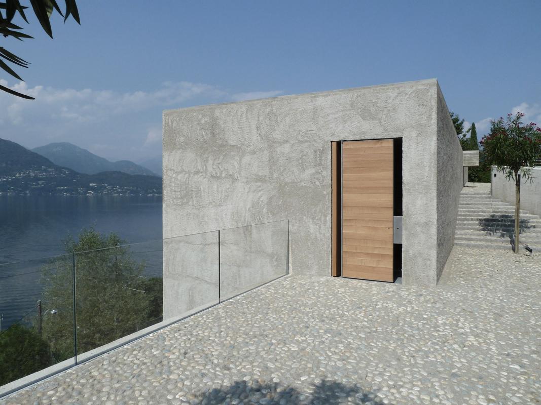 Wdmra casa kr a ranzo hic arquitectura for Intonaco rustico