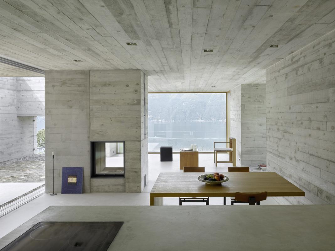 Wdmra casa a sant abbondio hic arquitectura - Casas de madera y hormigon ...
