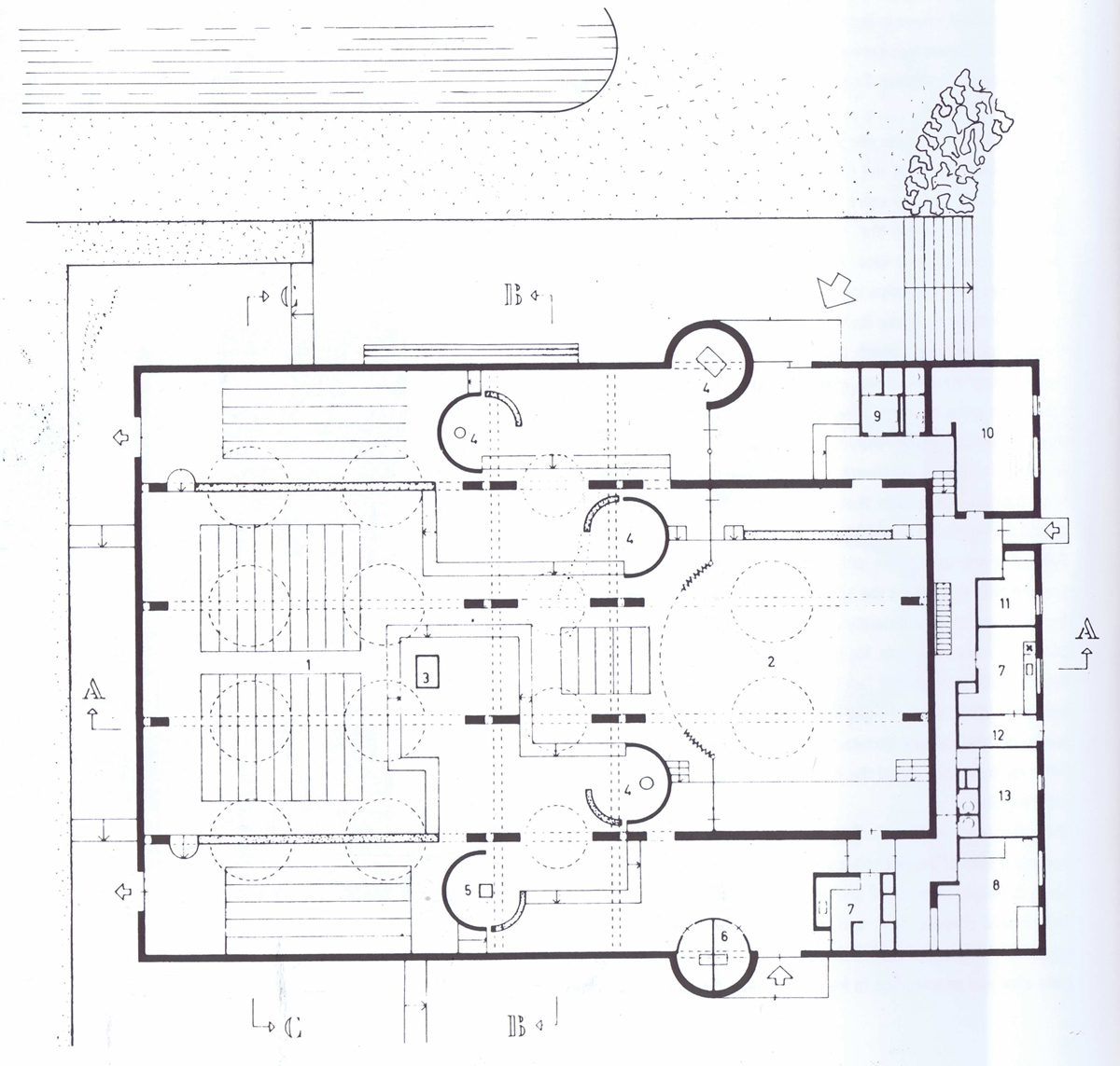 100 floor plan of a church proposed plans rooms for hire