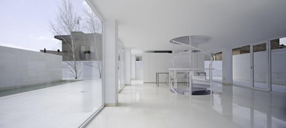 Alberto campo baeza moliner house zaragoza hic for Arquitectura minimalista casas