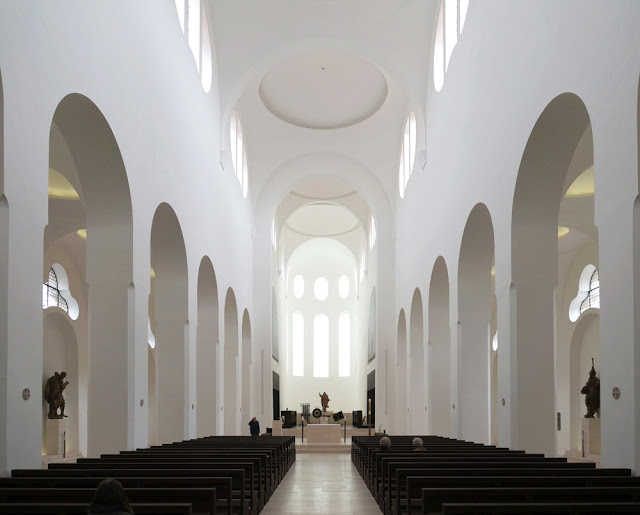John pawson st moritz church hic arquitectura for Interior design augsburg