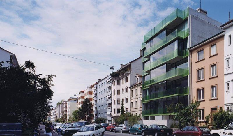 Buchner br ndler architekten lofthaus basel hic - Architekten basel ...