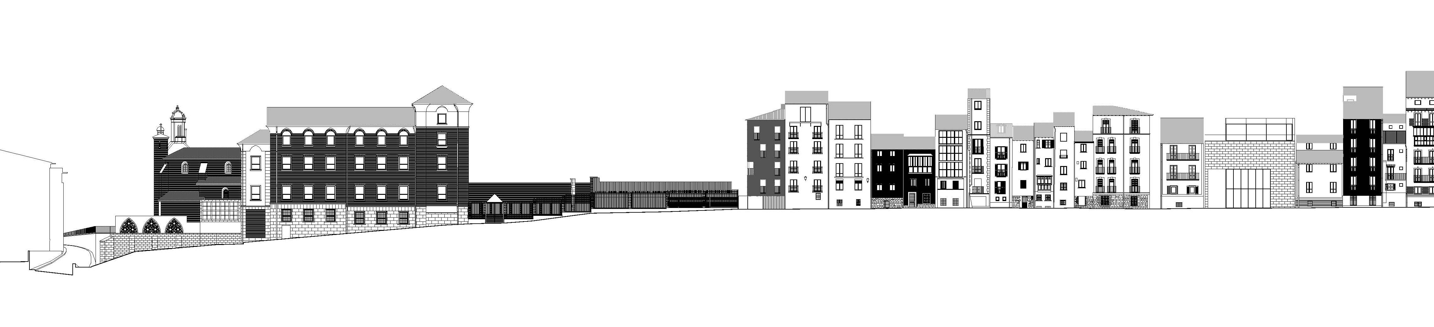 Pereda p rez arquitectos edificio de viviendas en la - Alzado arquitectura ...