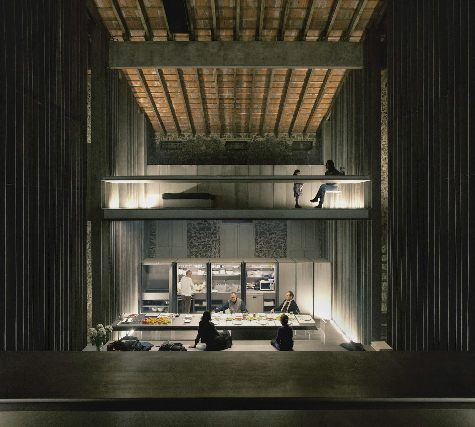 Rcr arquitectes casa entremuros hic arquitectura - Estudio 3 arquitectos ...