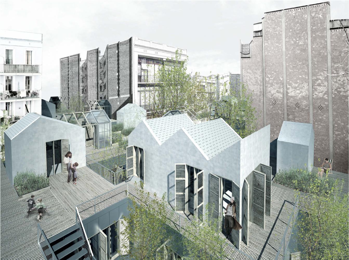 Proyecto del mes gen s plassa amalgama equipamientos for Proyectos arquitectura