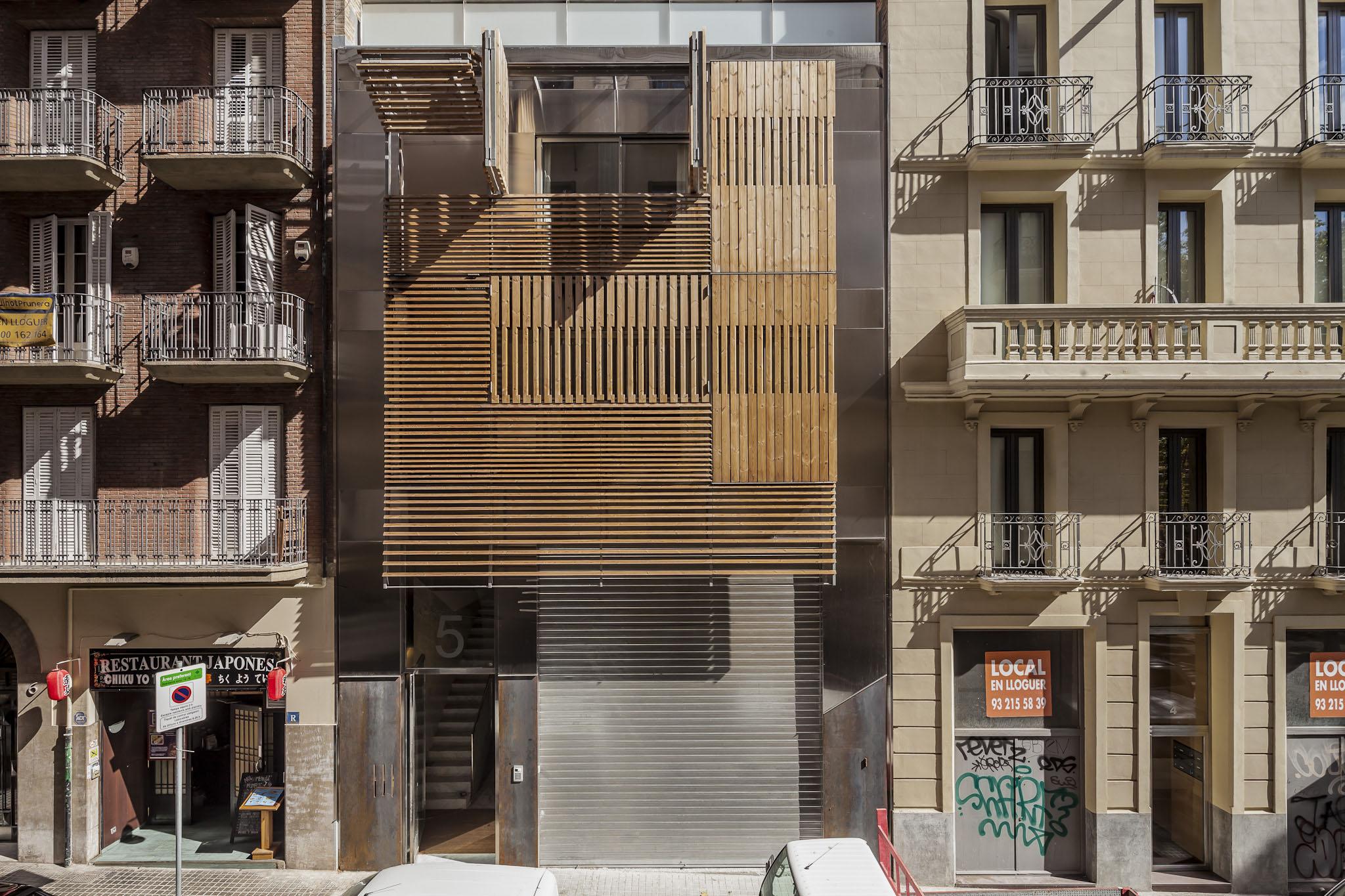 Mateo Arquitectura > Edificio de Viviendas en Passatge Marimon ...