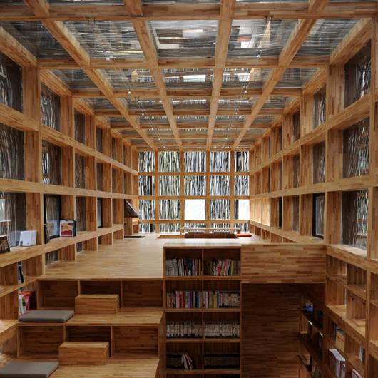 Li Xiaodong Atelier > Biblioteca Liyuan (8)