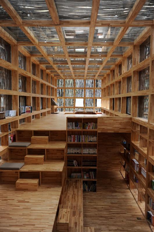 Li Xiaodong Atelier > Biblioteca Liyuan (7)