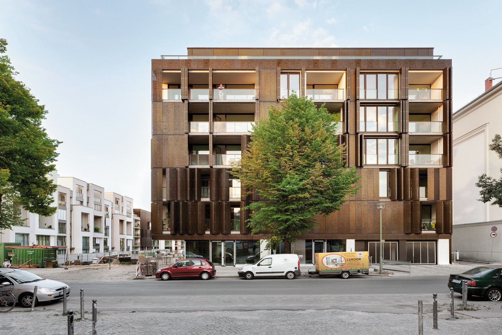 Gr ntuch ernst architekten housing development berlin - Architekten in berlin ...