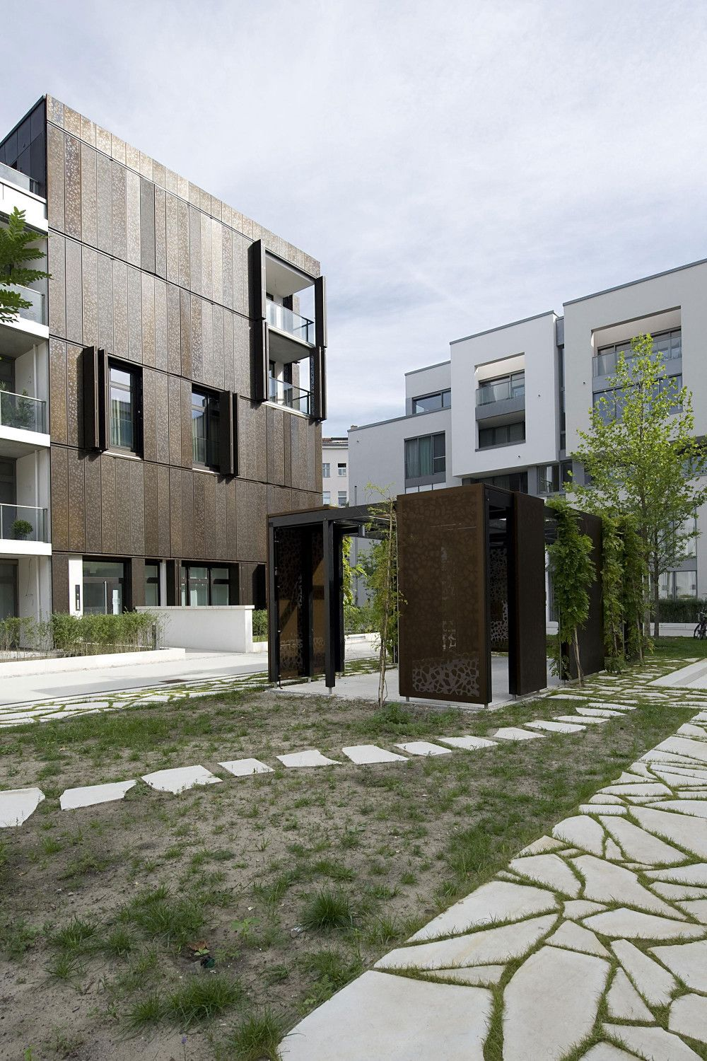 Gr ntuch ernst architekten housing development berlin hic arquitectura - Architekten deutschland ...