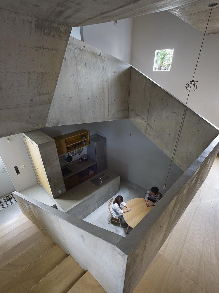Suppose design office house in nishiochiai hic for Idee architettura interni