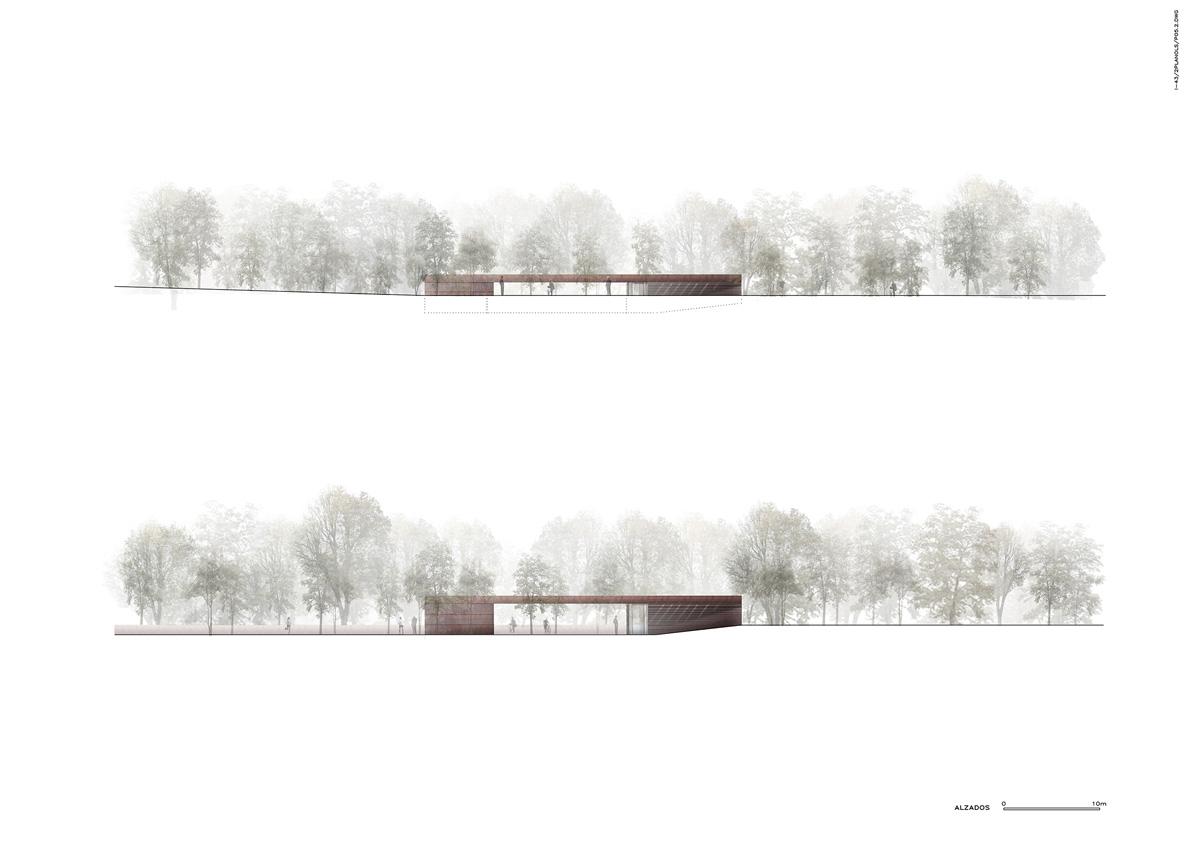 rcr arquitectes ue estadio de atletismo olot