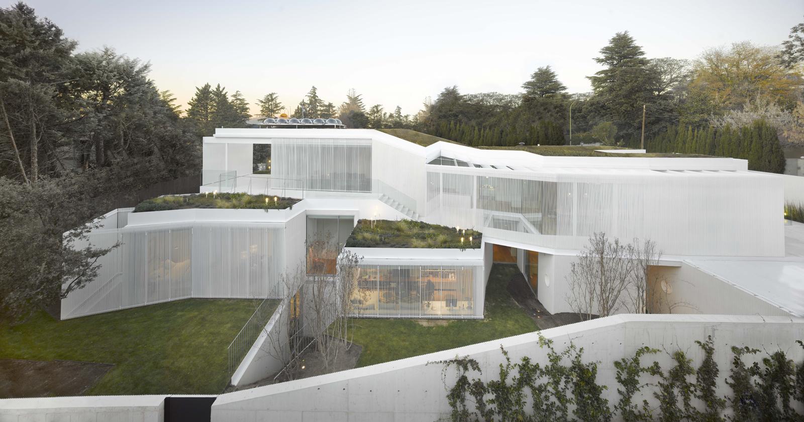 Estudio entresitio casa 1130 madrid hic arquitectura for Estudios arquitectura madrid