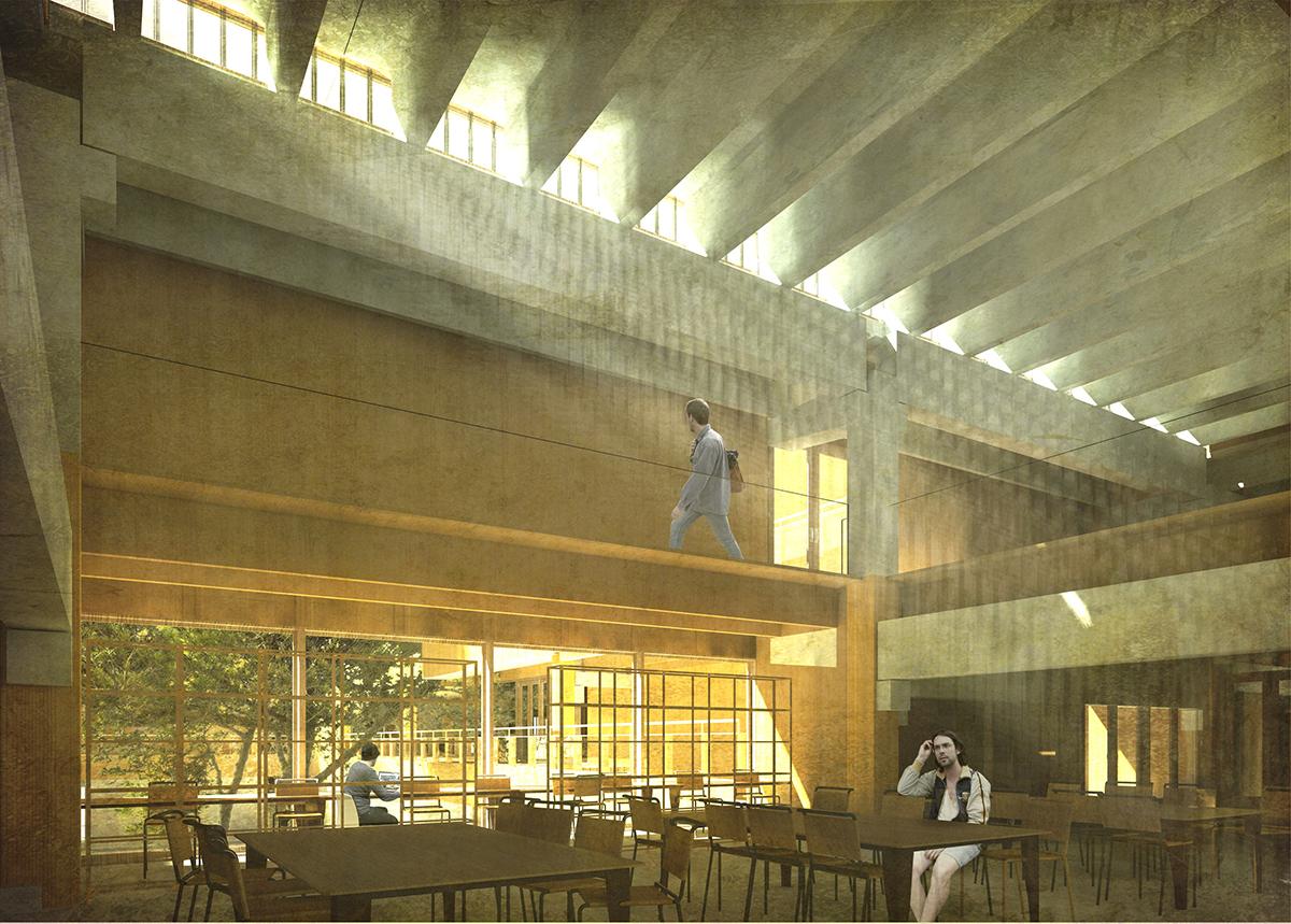 Andreu ar valo escuela de arquitectura y ampliaci n del - Escuela de arquitectura de barcelona ...