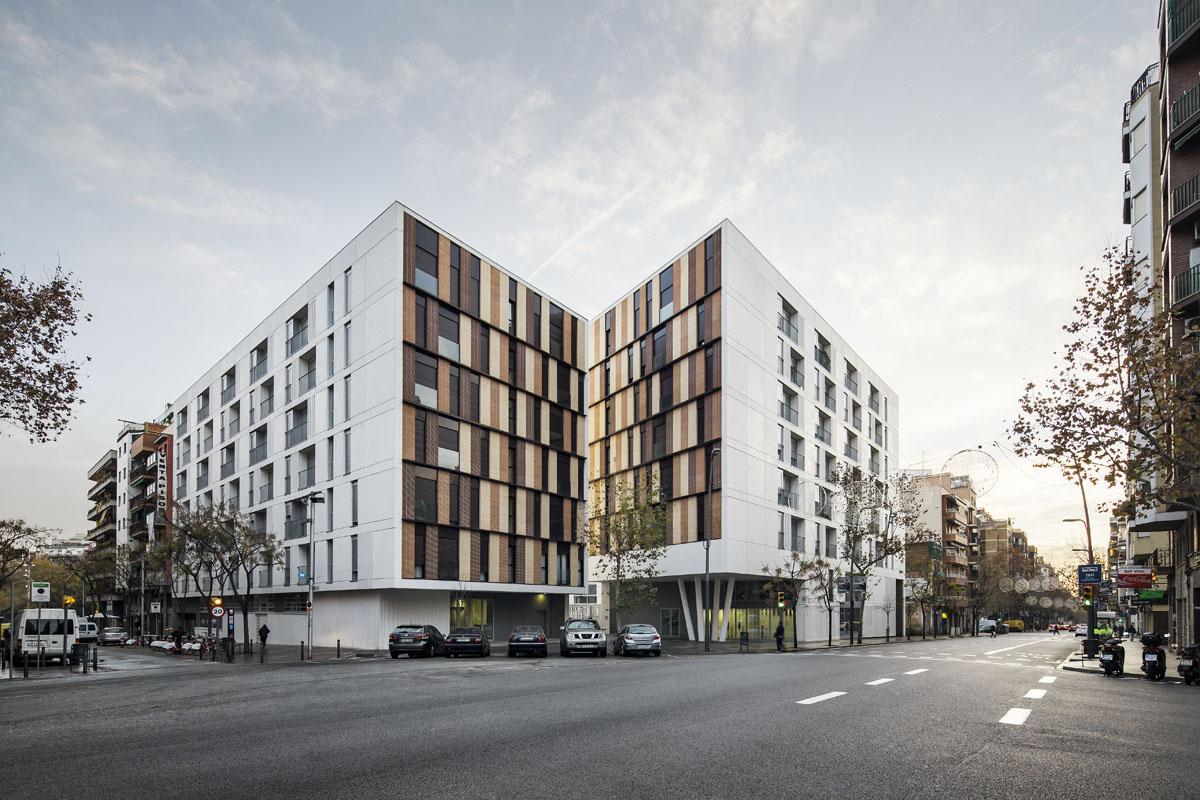 Onl arquitectura 154 viviendas de alquiler - Arquitectura barcelona ...