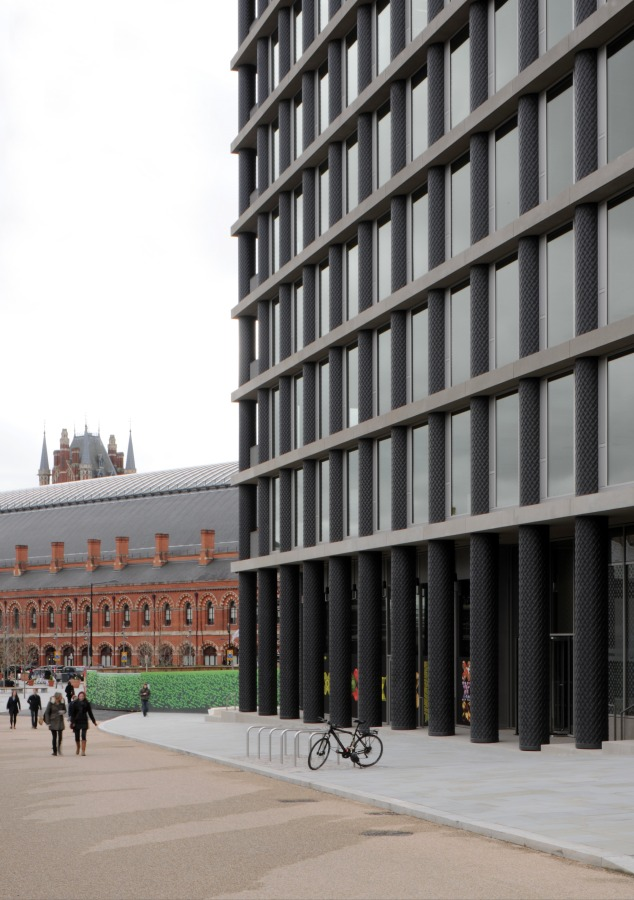 David chipperfield architects one pancras square hic for Chipperfield arquitecto