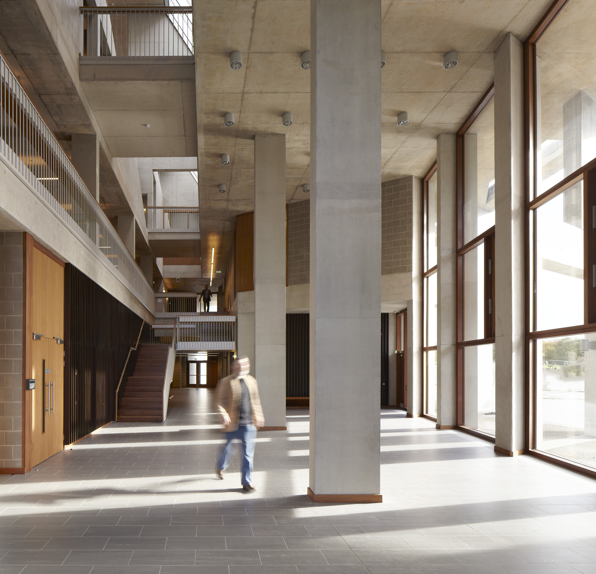 Open Foyer University : Grafton architects gt university of limerick medical school