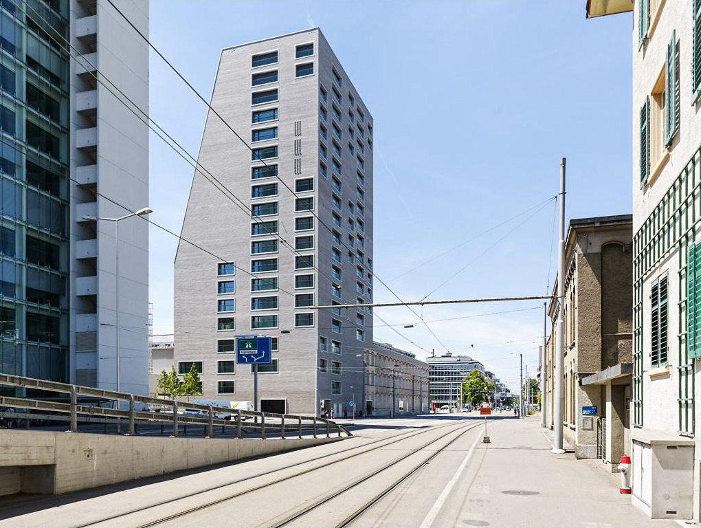 E2a metropol escher terrace high rise apartments for Terrace zurich