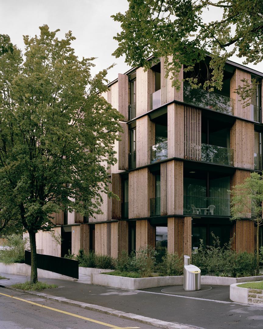 E2a escherpark apartment buildings z rich hic for Architecture zurich