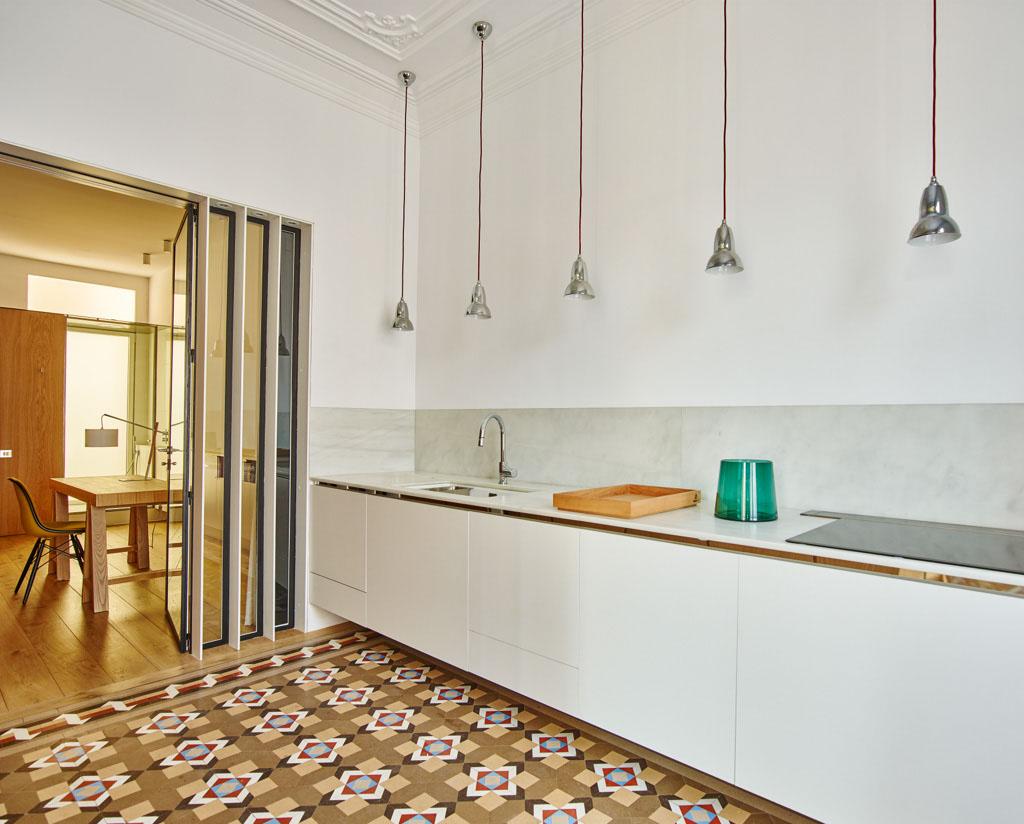 Built casa ab barcelona un piso en el ensanche hic arquitectura - Pisos eixample ...