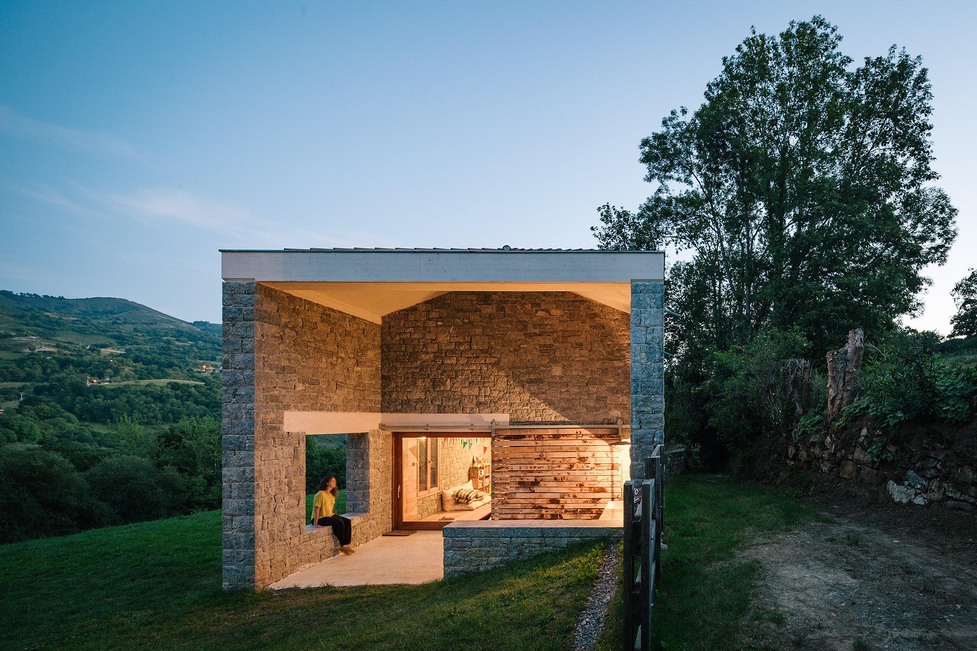 Pyo arquitectos casa tmolo hic arquitectura - Arquitectura de casas ...