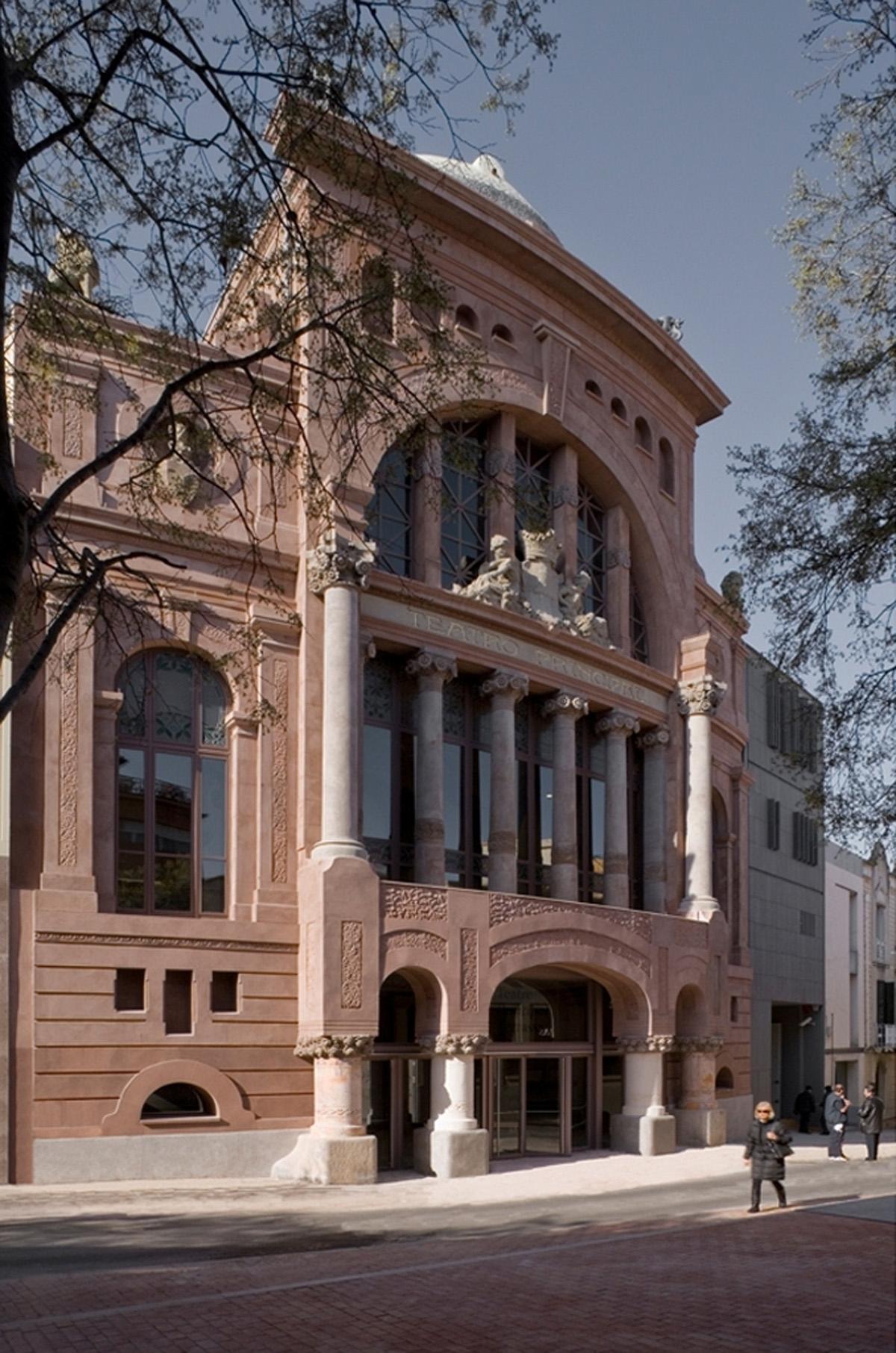Dilm fabr torras arquitectes reforma y ampliaci n del teatro principal de terrassa hic - Arquitectos terrassa ...