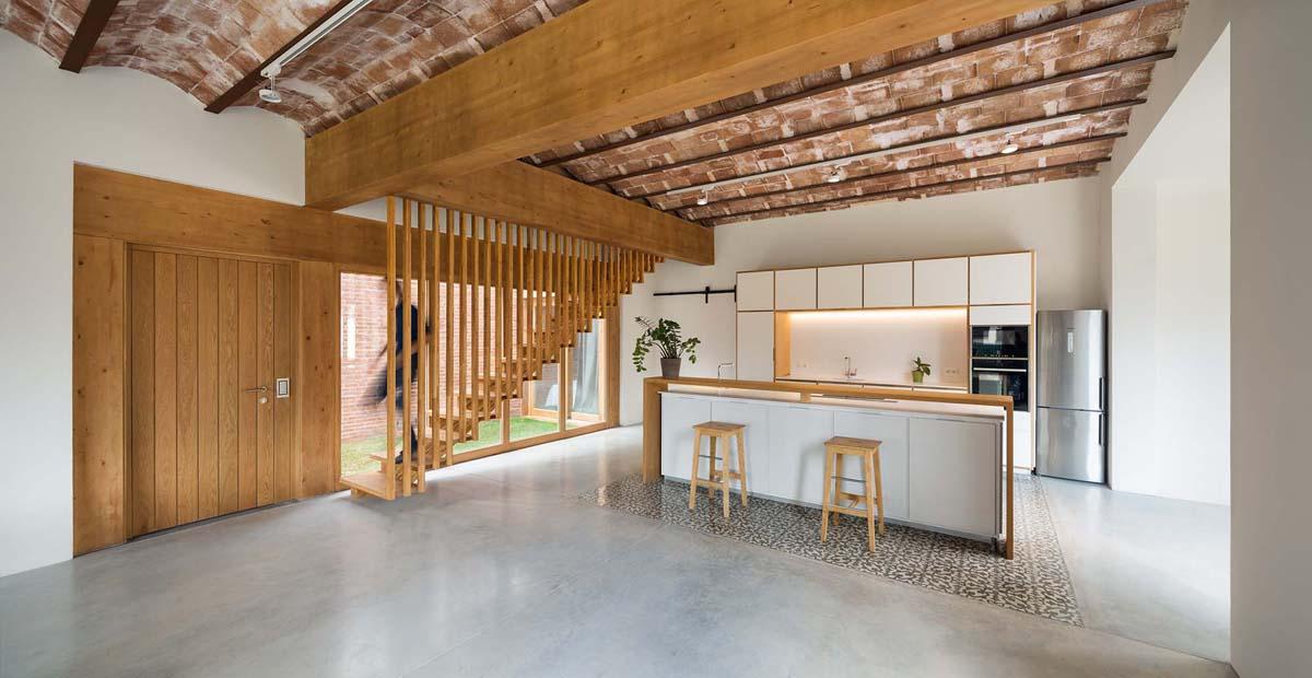 Hic arquitectura mano arquitectura rehabilitaci n de for Vivienda unifamiliar arquitectura