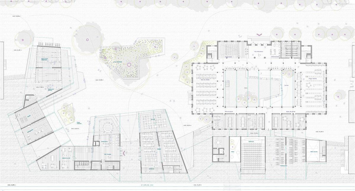 Jos ingl s nueva escuela de arquitectura de cartagena for Plantas de colegios arquitectura