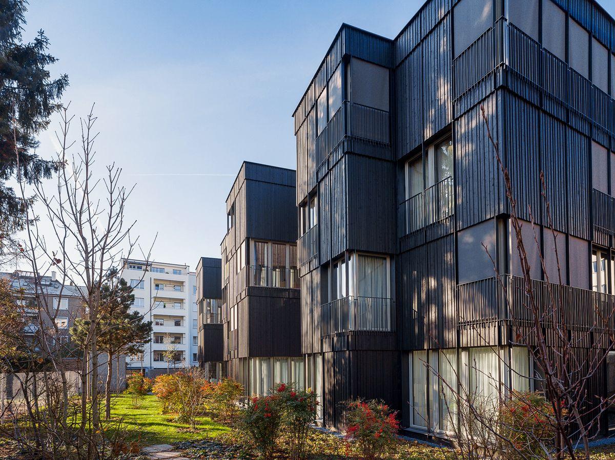 Miller maranta neubau wohnungen sempacherstrasse hic for Architektur basel