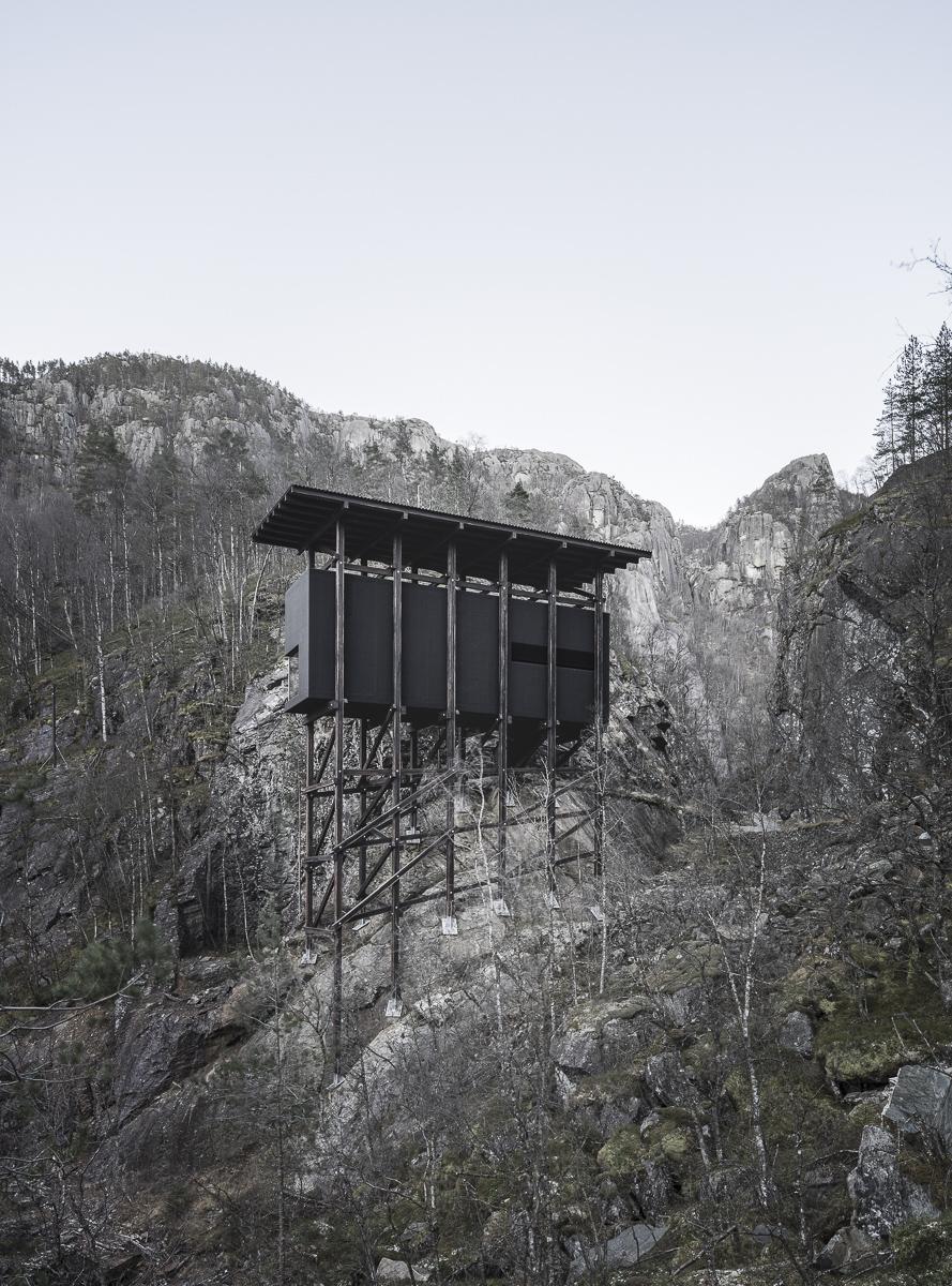 Peter zumthor mine zinc museum hic arquitectura for Architecture zinc