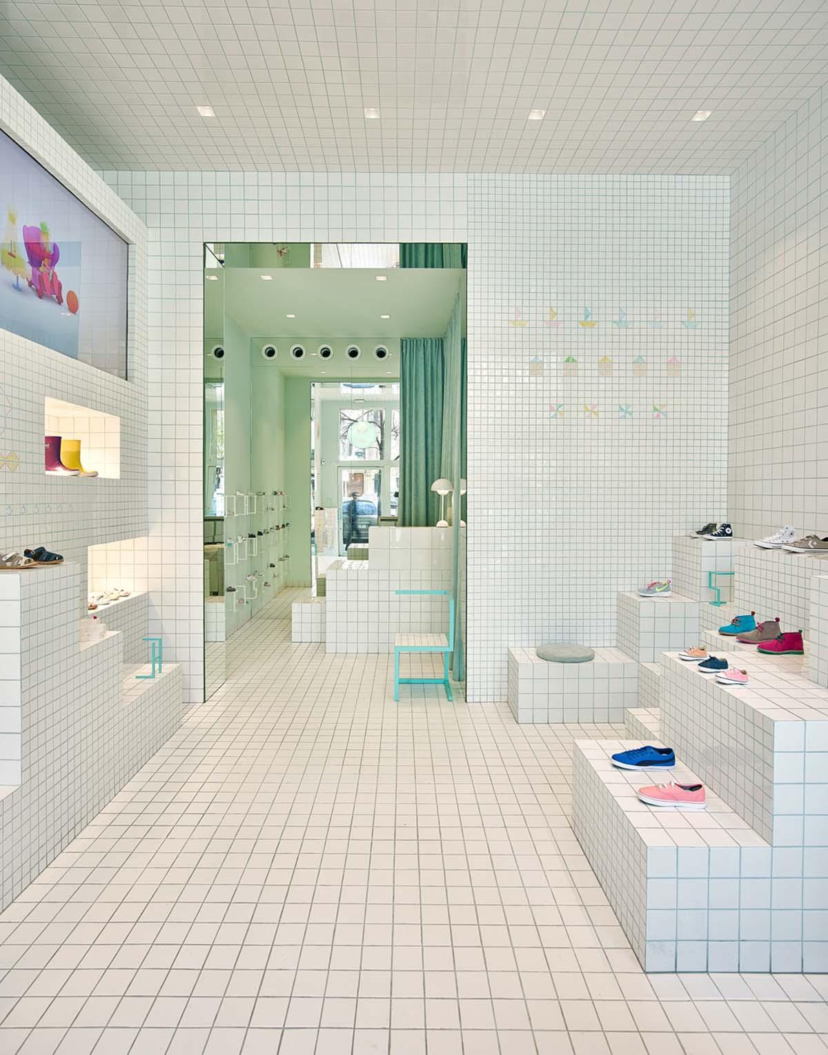 NABITO Architects > Little Shoes, Barcelona.