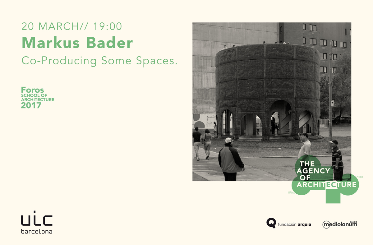 Markus Bader. Raumlaborberlin > Fountain House HIC Arquitectura