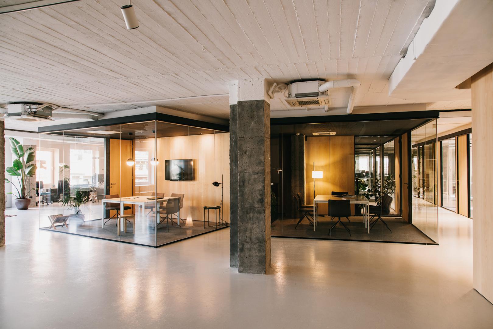 Mesura cloud coworking hic arquitectura for Booking barcelona oficinas