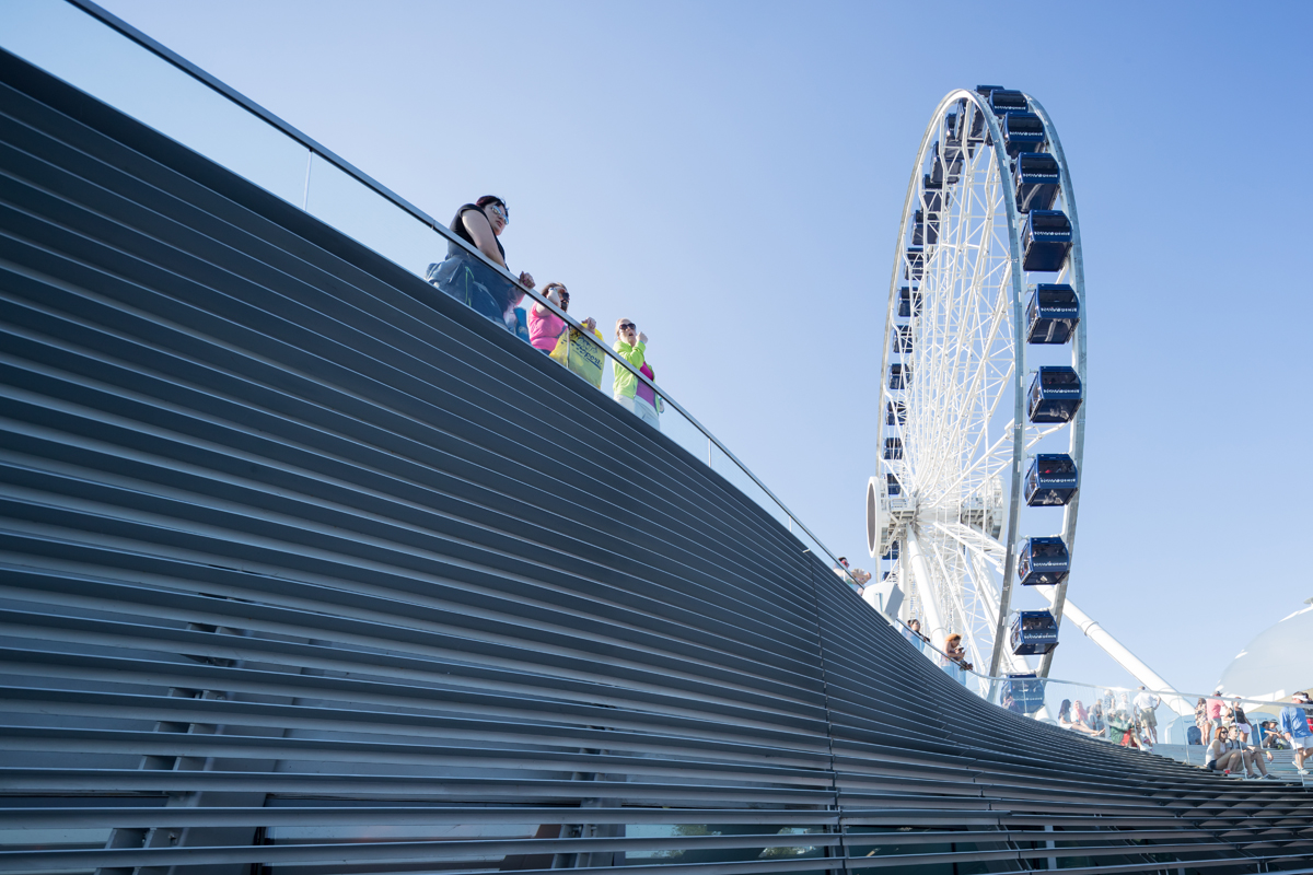 Narchitects Gt Pierscape Re Shaping Chicago Navy Pier