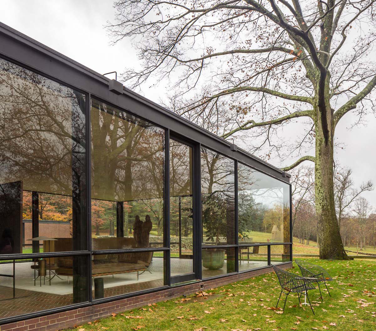 Philip Johnson Gt Glass House Hic Arquitectura