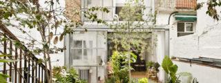 Jordi Adell > Reforma Casa Patio en Sants. Barcelona