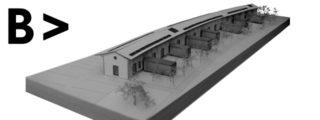 Giulio Castoldi > Conservación y conversión en biblioteca de un almacén ferroviario en Milán, Italia