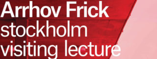 Arrhov Frick > Visiting lecture en Habitatge i Ciutat