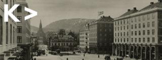 Finn Berner > Torgallmenningen. 1927